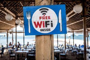 Free wifi, conexión