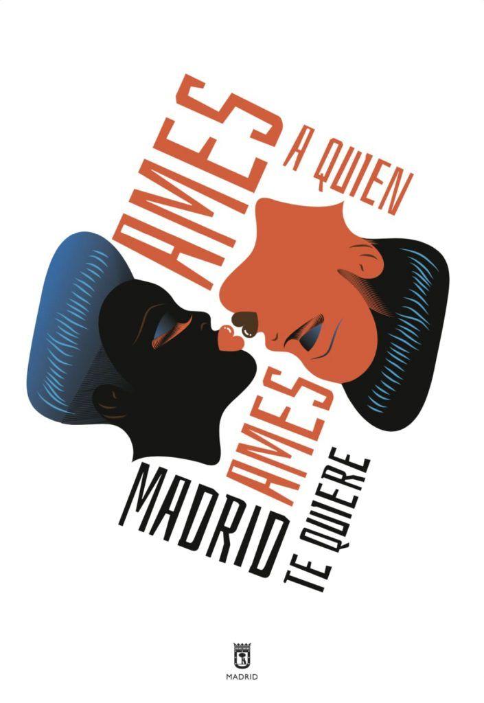 Los famosos diseños de carteles de Madrid