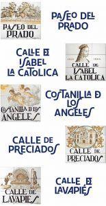 Chulapa es la tipografía de Madrid
